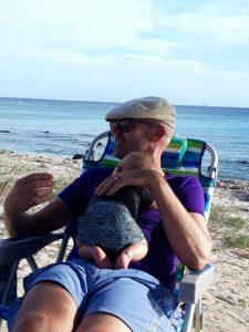 emigratiecoach Aruba marcel uitwaaien strand